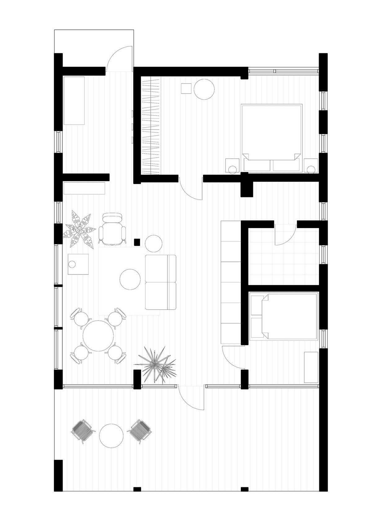 Модульный дом с дизайнерским интерьером под Санкт-Петербургом