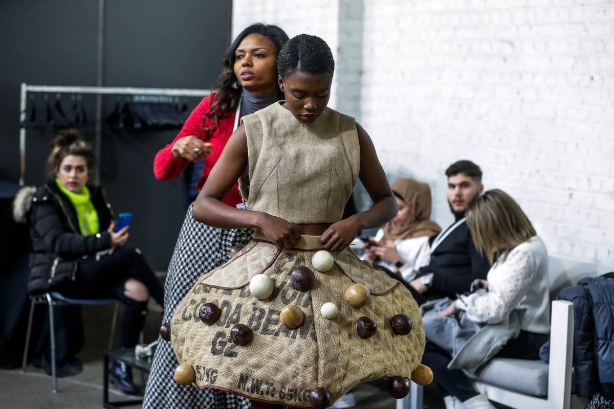Сладкие и модные шоколадные наряды в Брюсселе