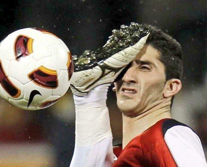 Забавные спортивные снимки, сделанные в нужный момент