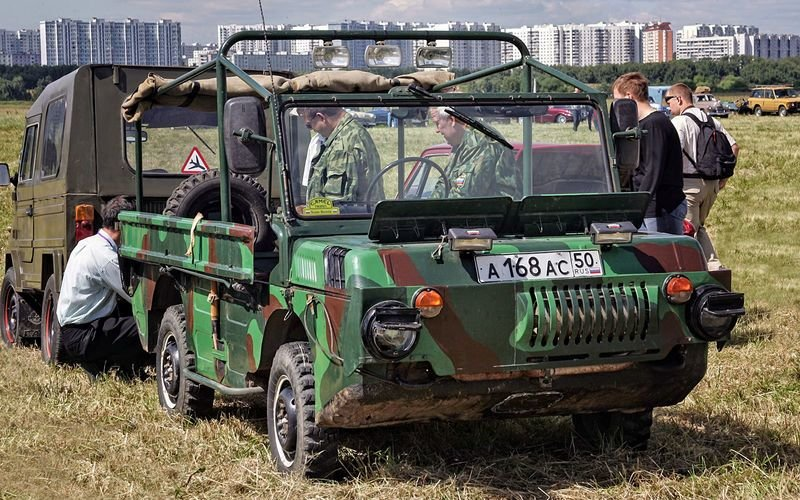 Интересные автомобили родом из СССР