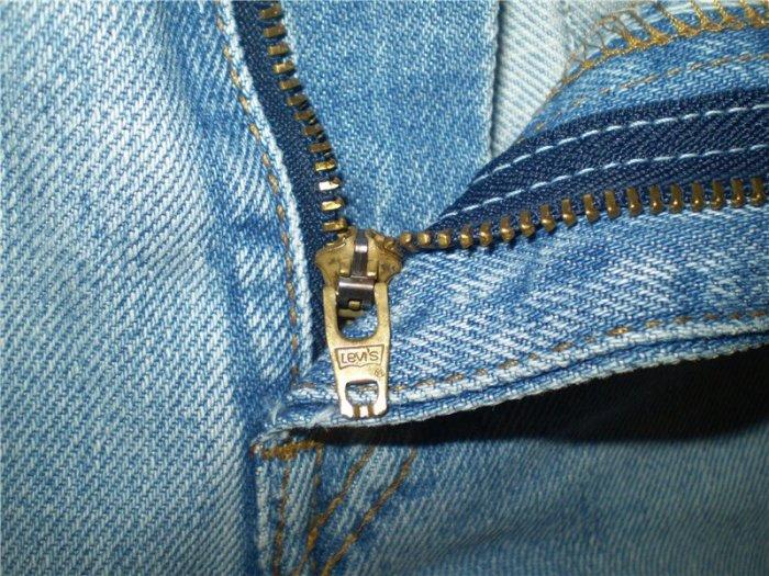 Как быстро починить молнию на джинсах, чтобы она не расходилась