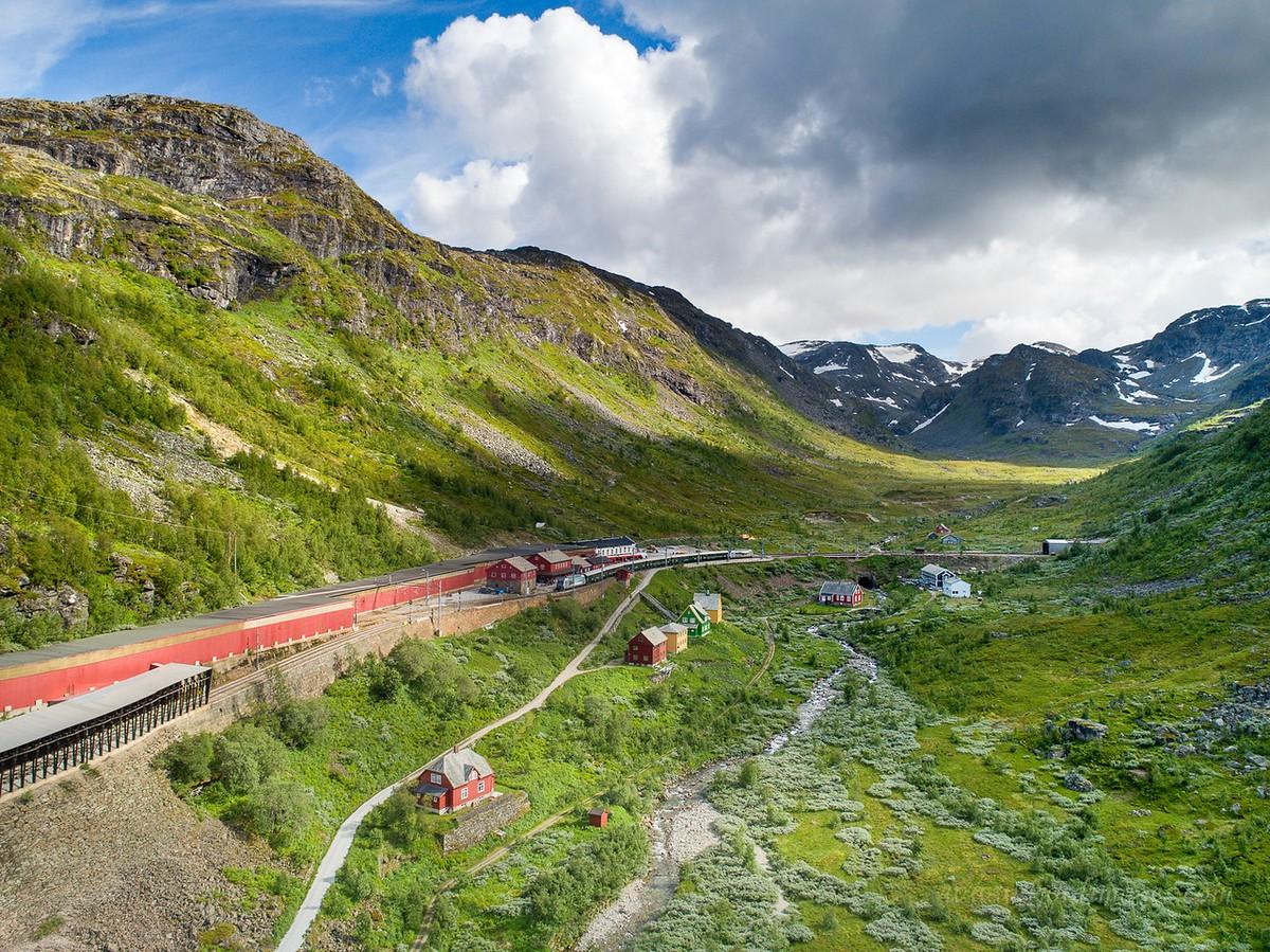 Красота норвежских пейзажей от Оле Моена