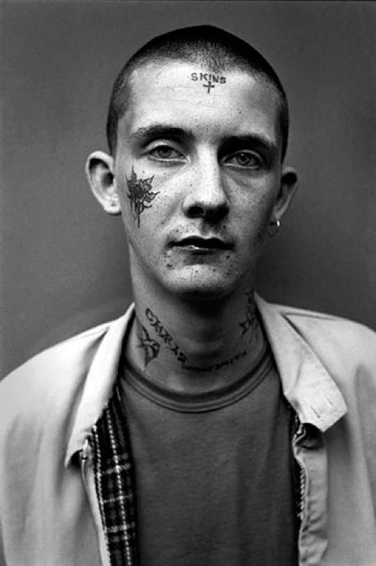 Лица молодых людей Лондона 70-х и 80-х