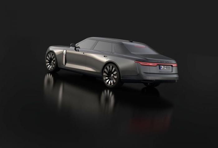 Range Rover в кузове седан — конкурент Rolls-Royce Ghost