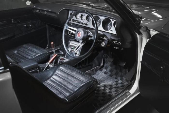 Nissan Skyline 2000 GT-R Kenmeri — японский олдтаймер