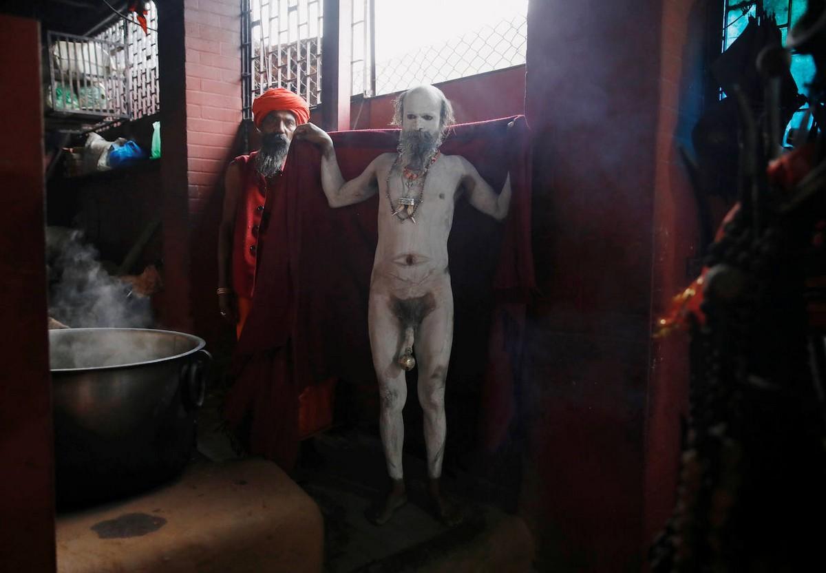 Индуистский праздник Махашиваратри в Непале