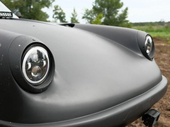 Классический Porsche 911 превратили в багги в стиле Baja