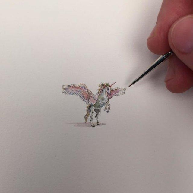 Крошечные детализированные рисунки от Брук Ротшанк