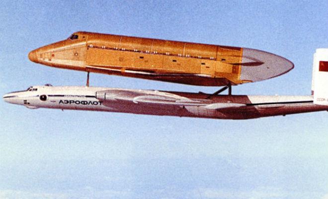 Секретный самолет СССР для перевозки огромных объектов