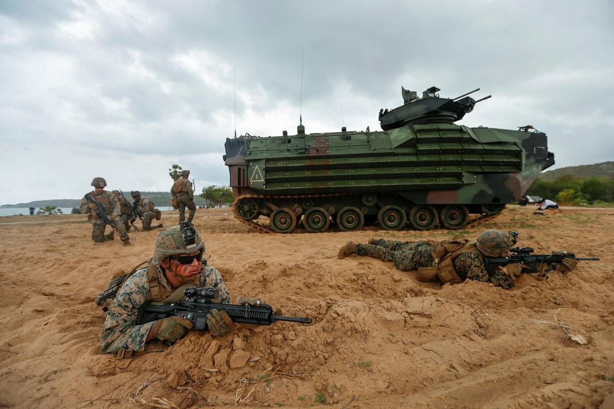 Ежегодные военные учения Cobra Gold в Таиланде