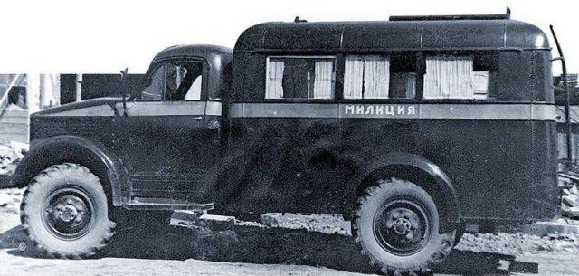 Автомобили советской милиции