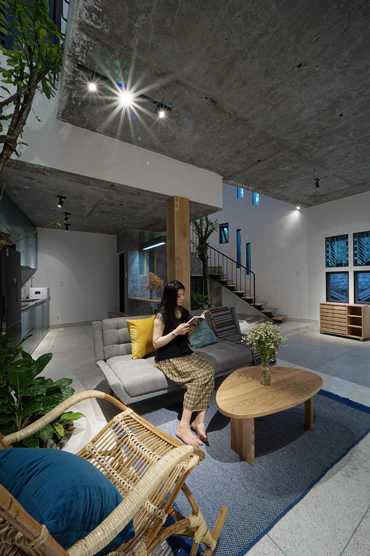 Дом для женщины, которая любит ромашки, во Вьетнаме