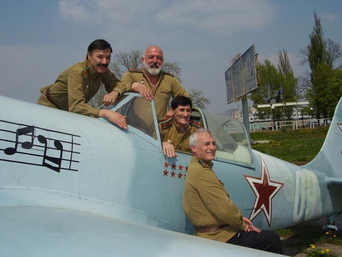 Какой самолёт снимался в фильме В бой идут одни старики