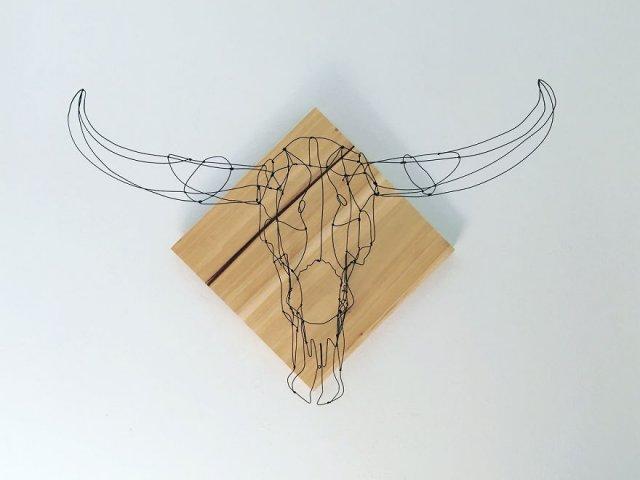 Проволочные скульптуры от Элисон Бринн Росс