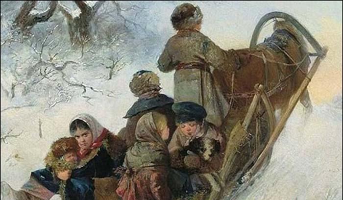 Взрослые обязанности и труд крестьянских детей в старину