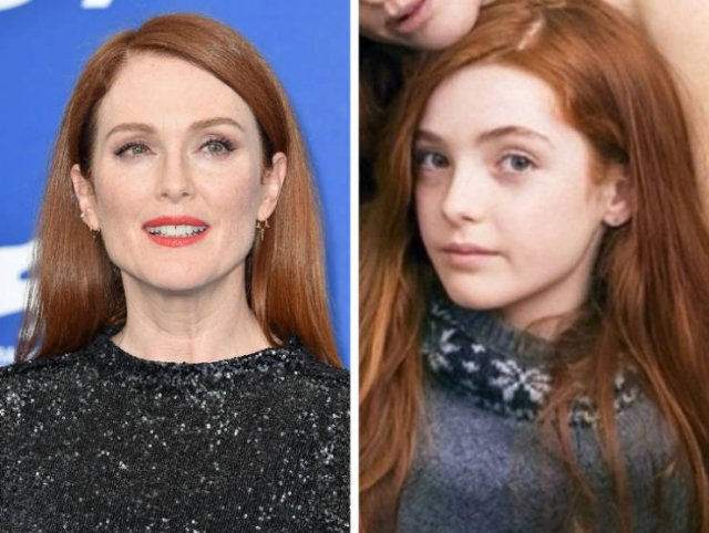 Знаменитые женщины и их дочки