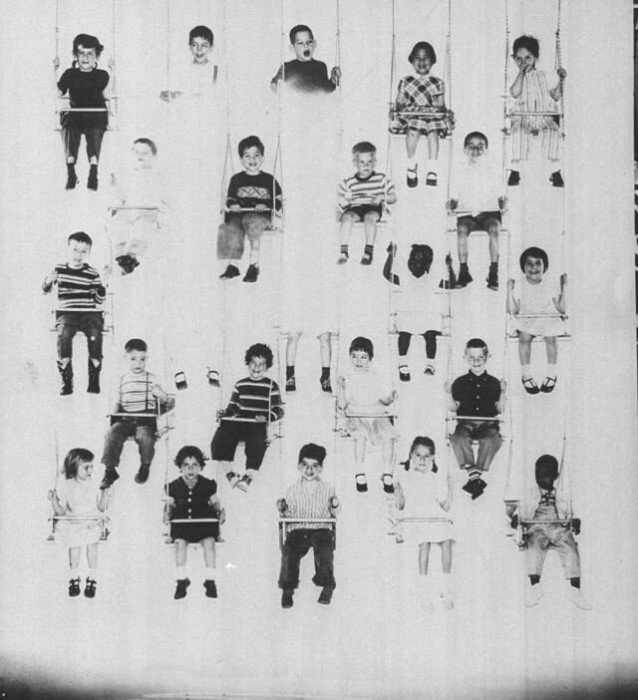 Дети в 1940-1960-х годах на редких винтажных снимках