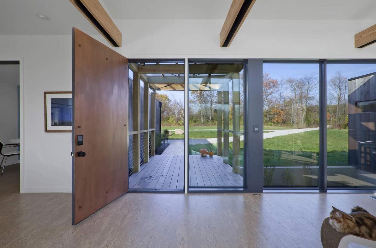 Энергоэффективный семейный дом в штате Индиана