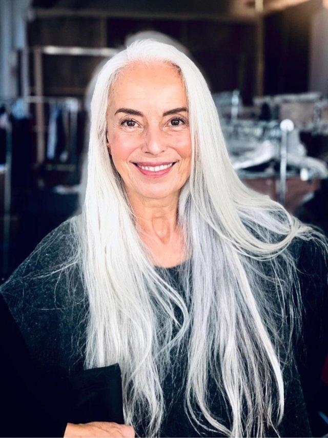 Модель Яземина Росси доказывает, что стареть можно красиво