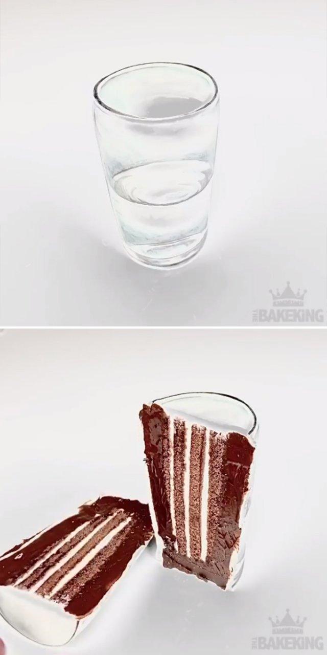 Невероятные торты-иллюзии от Бена Каллена