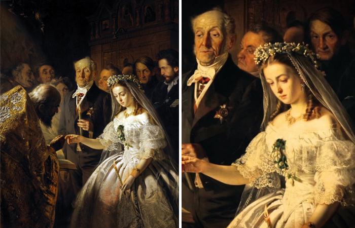 Как картина Неравный брак изменила общество