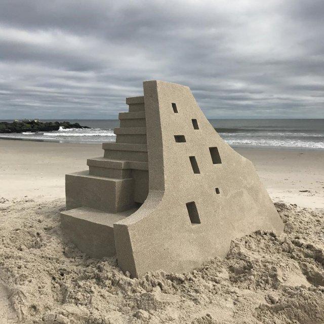 Келвин Сейберт и его необычные дома на пляже