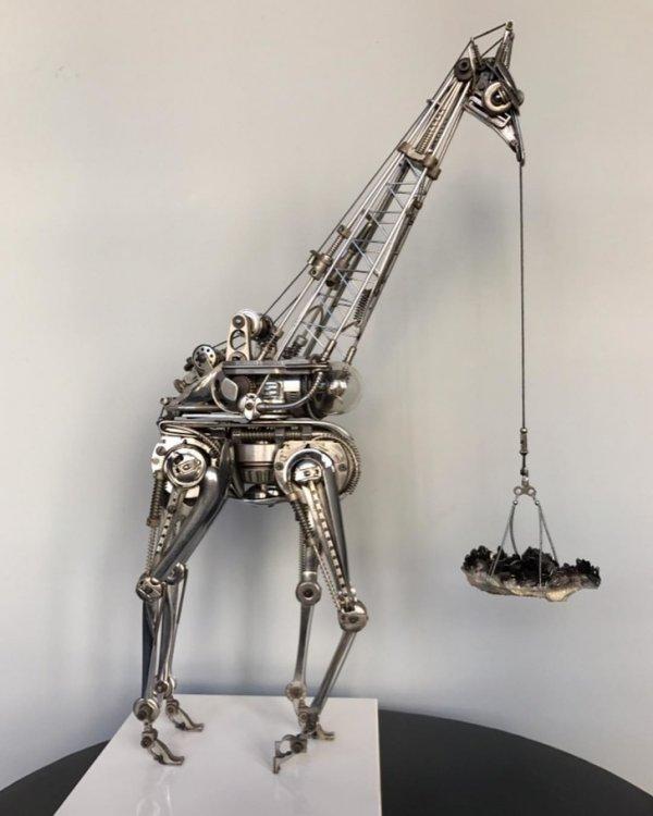 Ненужные столовые приборы как материалы для искусства