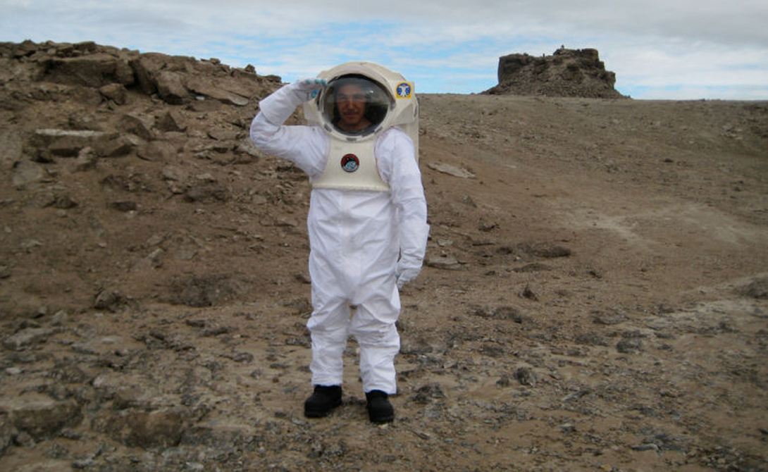 Остров Девон - кусок Марса на Земле
