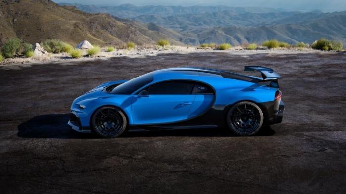 Bugatti Chiron Pur Sport с огромным антикрылом
