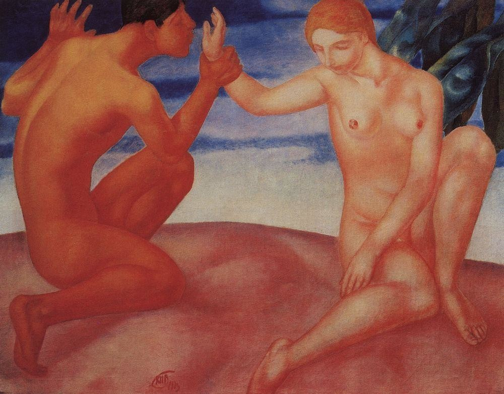 Трогательные романтические сцены в русском искусстве