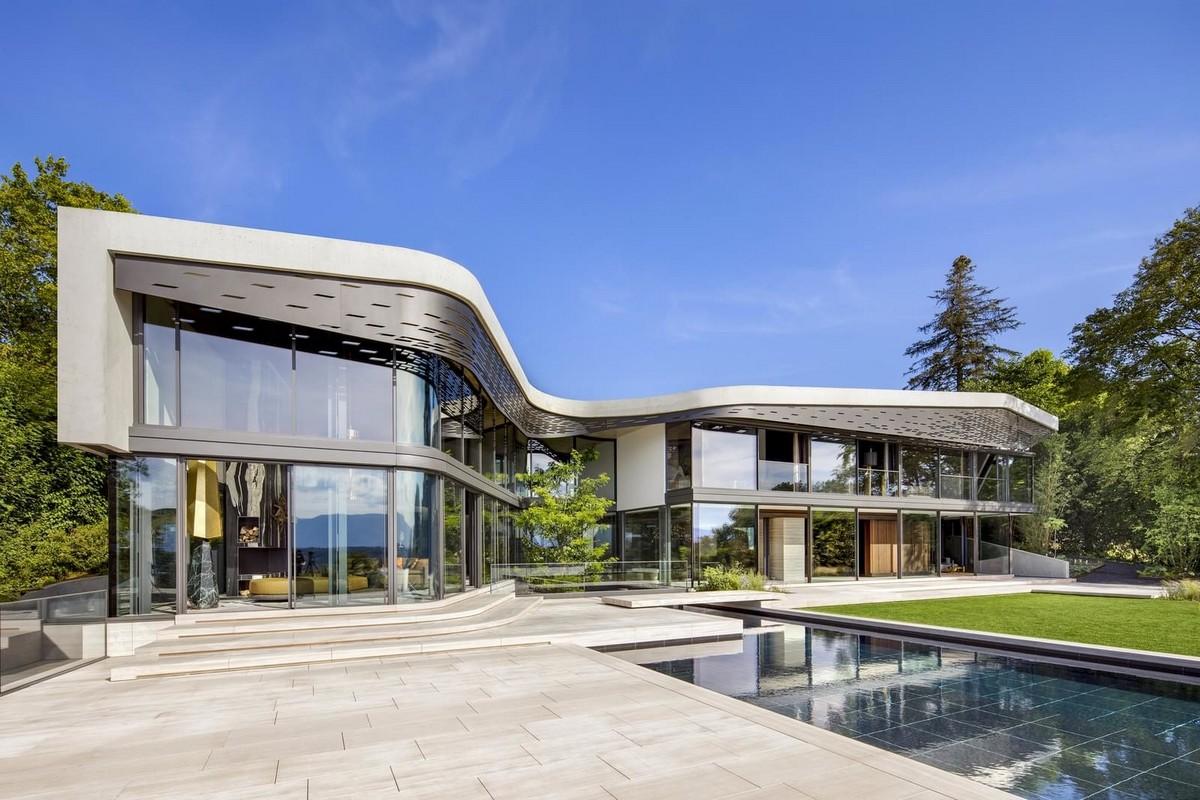 Резиденция на берегу Женевского озера в Швейцарии