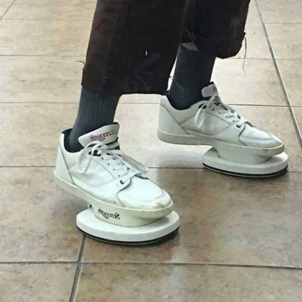 Самая странная обувь, которую вы когда-либо видели