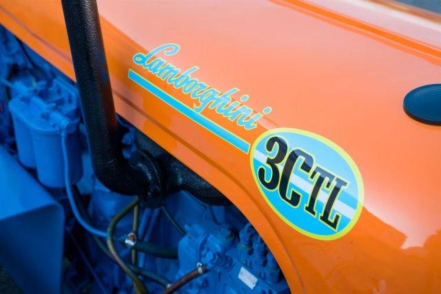 Трактор Lamborghini 3 CTL 1965 года