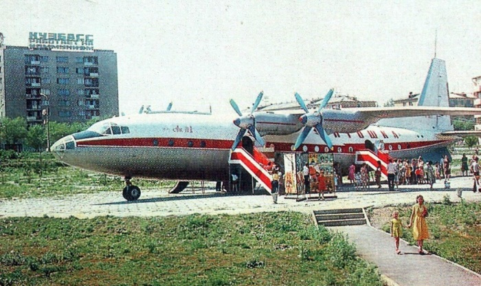 Кафе-самолёты во времена Советского Союза