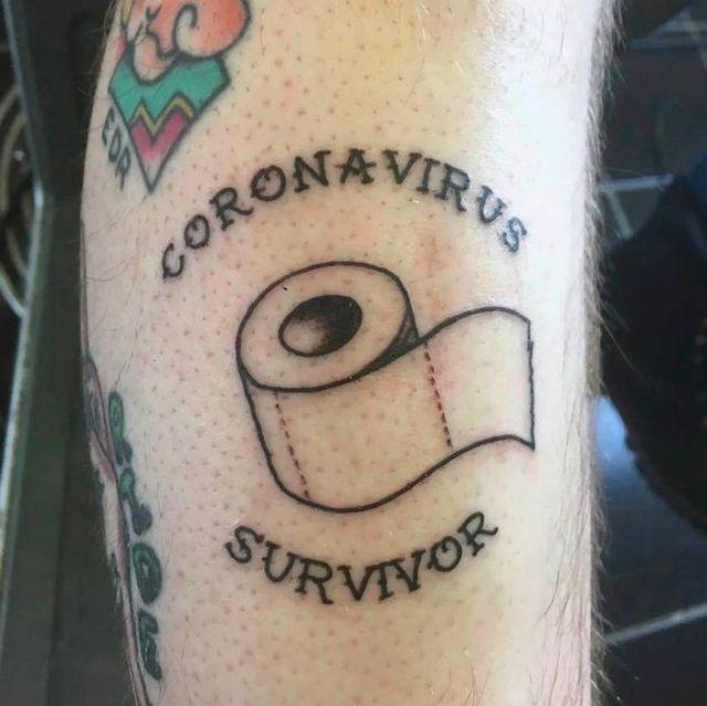 Безумные татуировки, которые посвящены коронавирусу