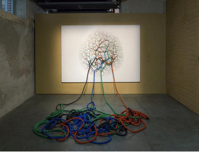 Искусство в канатах от Джанайны Мелло Ландини