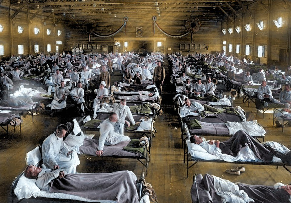 Как врачи и медсестры боролись с испанским гриппом в 1918 году