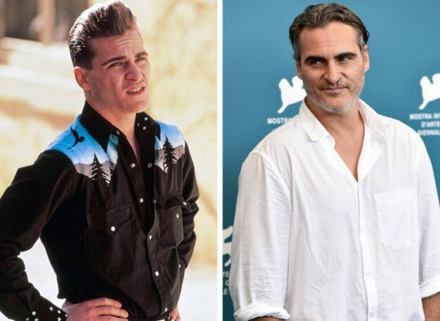 Знаменитые голливудские актёры на снимках тогда и сейчас