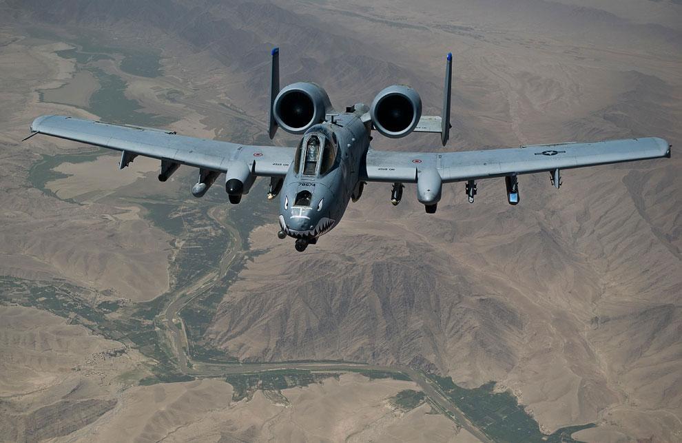 Красивые снимки летательных аппаратов ВВС США