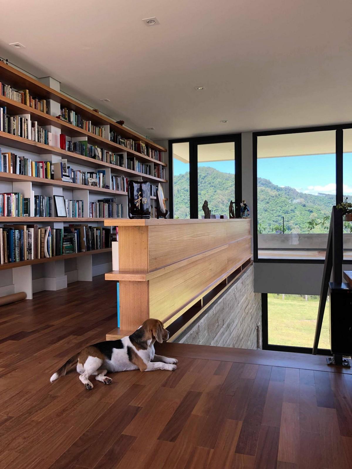 Дом коллекционера книг в Бразилии