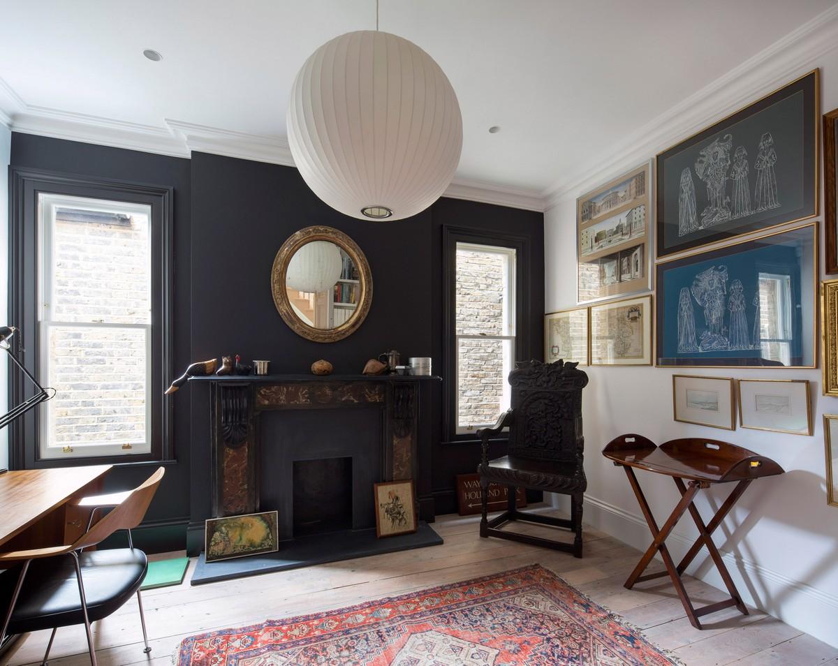 Обновлённый викторианский дом в Лондоне