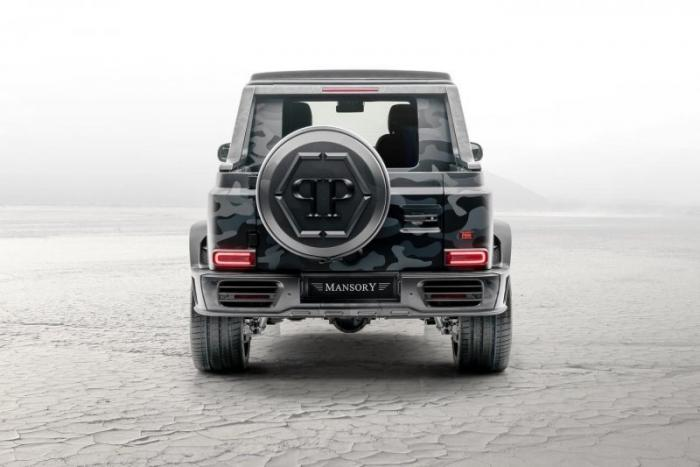 Пикап из Mercedes-AMG G63 от немецкого ателье
