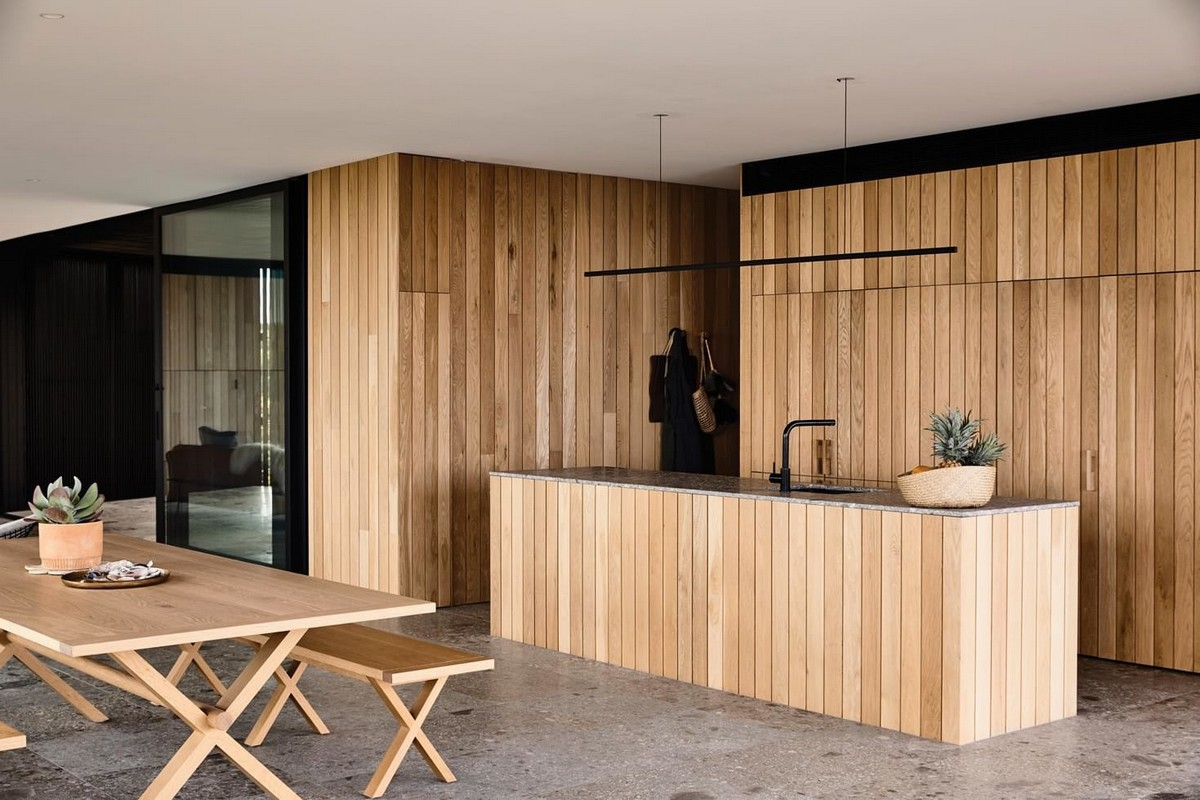 Резиденция со стеклянным фасадом в Австралии