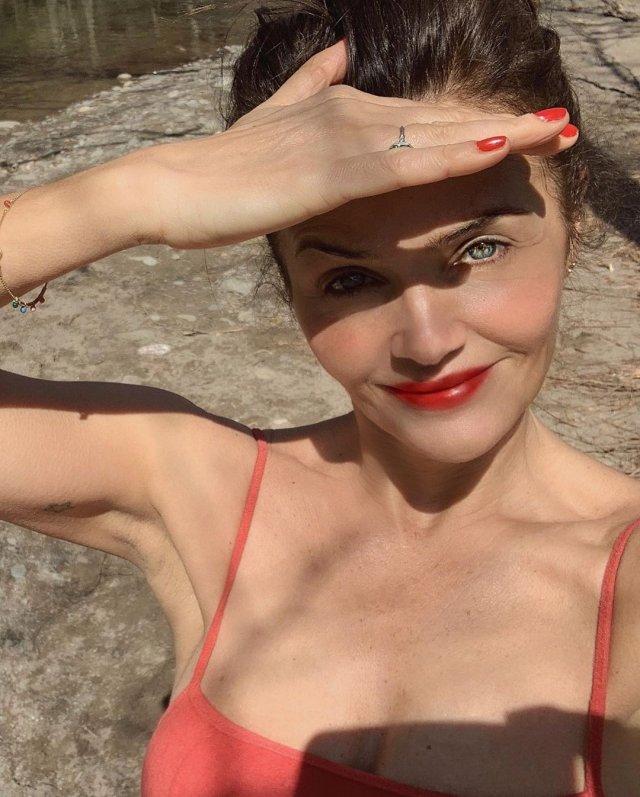 51-летняя датская супермодель Хелена Кристенсен