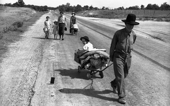 Некоторые последствия Великой Депрессии в Америке