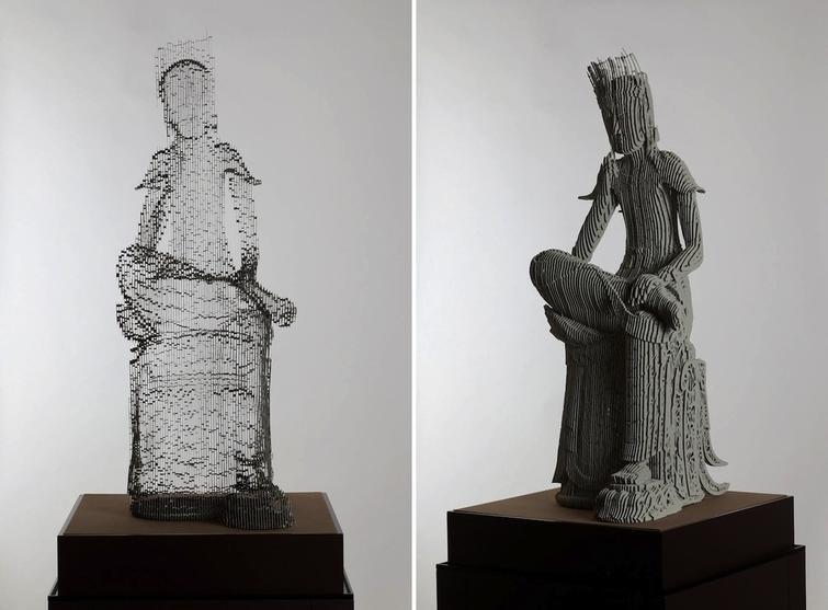 Полупрозрачные скульптуры от корейского художника