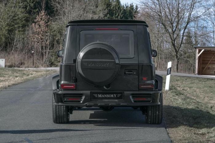 Пуленепробиваемый Mercedes-AMG G63 от ателье Mansory