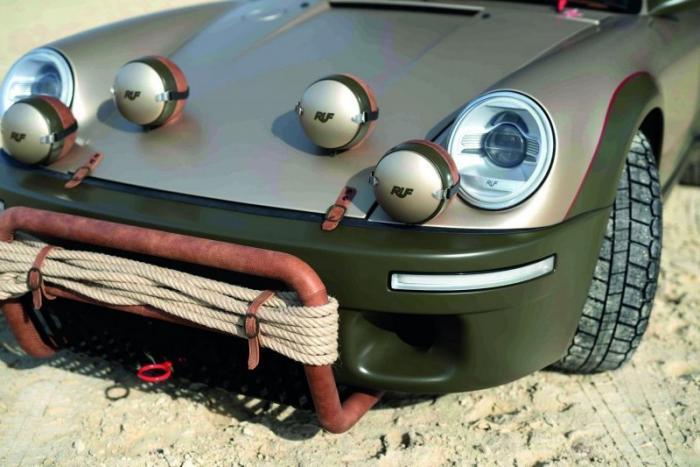 RUF Rodeo с полным приводом и внешностью Porsche 911 Авто/Мото