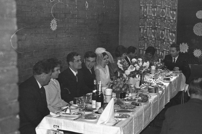 Традиции празднования бракосочетания в СССР