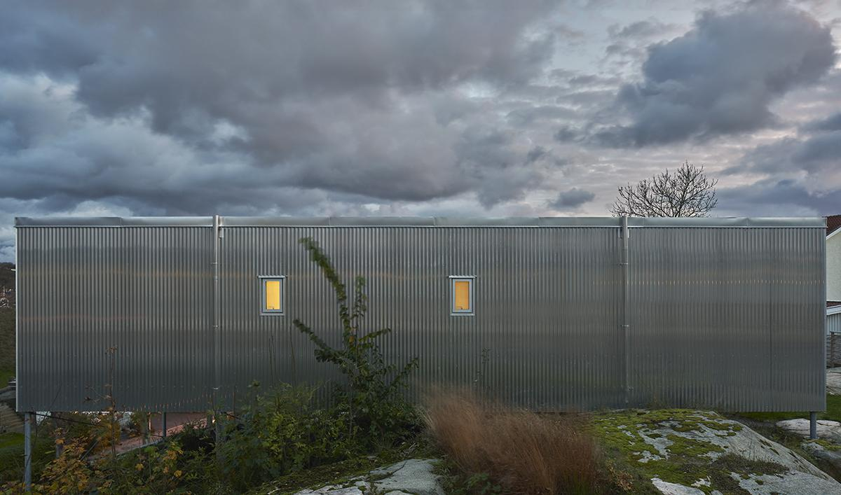 Проект минималистичной семейной виллы в Швеции